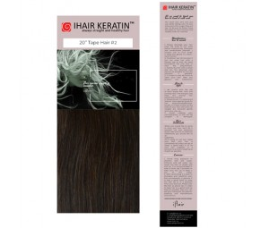 Extensii cu Banda nr.2 Saten Natural Tape On Ihair Keratin