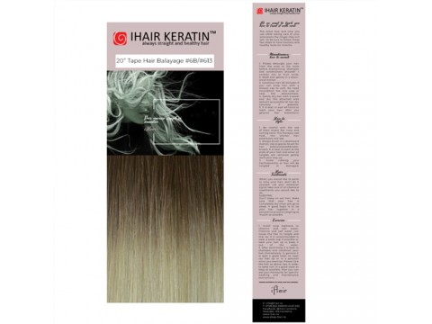 Extensii TAPE ON #6B/#613 -  Balayage Blond Ihair Keratin