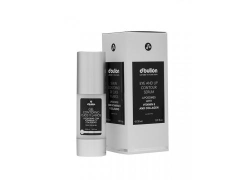 Ser pentru conturul ochilor si al buzelor cu liposomi, vitamina E si colagen BULLON 30 ML