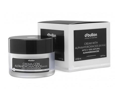 Crema cu 5 HidroAcizi A.H.A. de Albire 100% naturali BULLON BULLON 50 ML