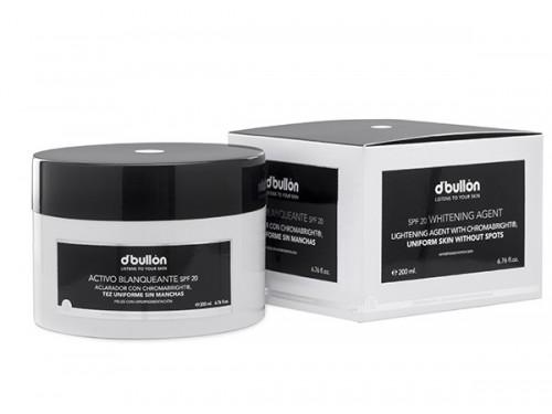 Crema Activa de Albire cu Protectie Solara, pentru ten Pigmentat cu Chromabright BULLON SPF 20 200 ML