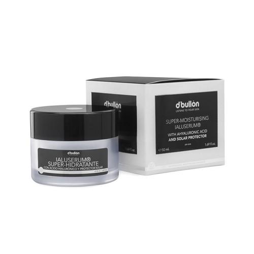 Crema Super Hidratanta cu Acid Hialuronic si Protectie Solara, ten uscat IALUSERUM 50 ml