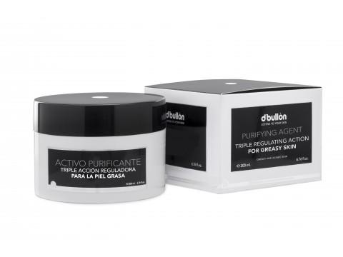 Crema Purifianta cu tripla actiune pentru Ten Gras si Acneic BULLON 200 ML