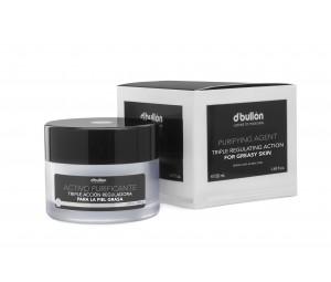 Crema Purifianta cu tripla actiune pentru Ten Gras si Acneic BULLON 50 ML