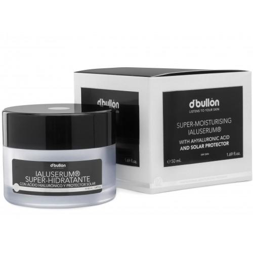 Crema Super Hidratanta cu Acid Hialuronic si Protectie Solara, ten uscat D'Bullon 50 ml