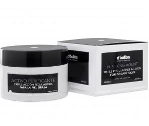 Crema Purifianta cu tripla actiune pentru Ten Gras si Acneic D'Bullon 200ml