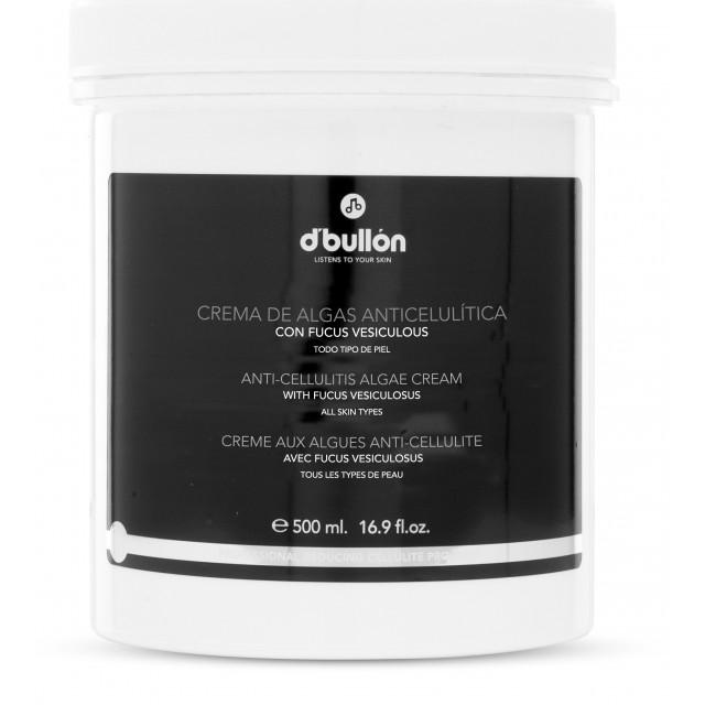 Crema Anti Celulita cu Alge Fucus Vesiculosus D'Bullon 500 ML