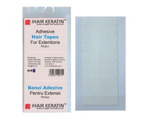 Benzi Adezive pentru Extensii Ihair Keratin set 50buc