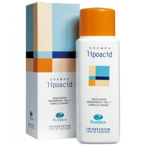 Sampon exces sebum, scalp gras Lipoacid Tricosystem Rueber 220ml