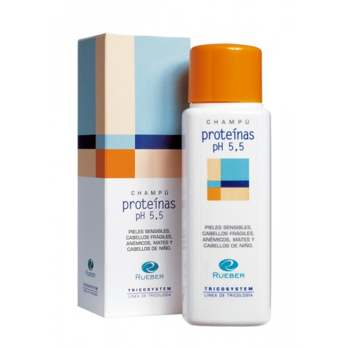 Sampon Intaritor, anti-cadere Proteinas Ph 5,5 Tricosystem Rueber 220ml