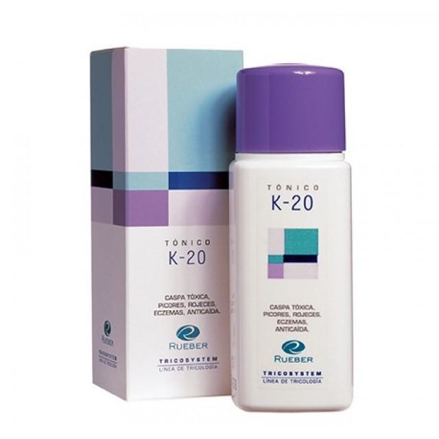 Tonic Dermatita Seboreica K 20 Tricosystem Rueber 150 ml