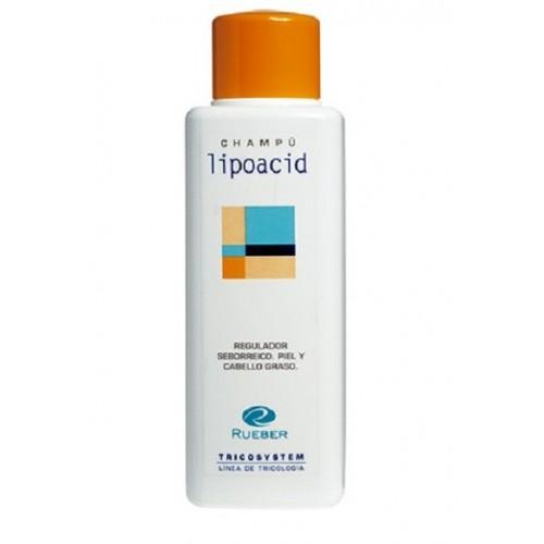 Sampon exces sebum, scalp gras Lipoacid Tricosystem Rueber 400ml