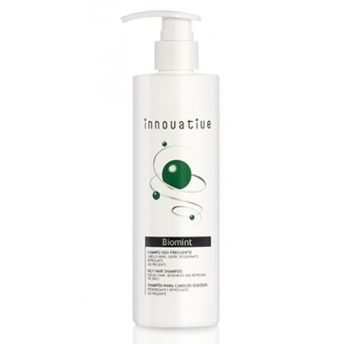 Sampon cu Mentol racoritor, Stimulator Biomint Innovative Rueber 330ml
