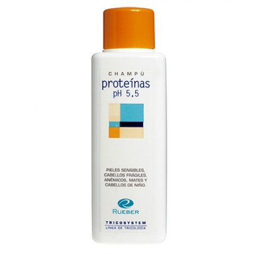 Sampon intaritor anti-cadere Proteinas Ph 5,5 Tricosystem Rueber 400ml