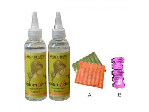 Set Tratament Volum la radacina + Aplicatori IHAIR KERATIN 150 ML