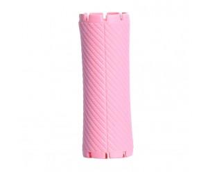 Bigudiuri roz 3.2*8.8 cm Ihair Keratin 10 buc