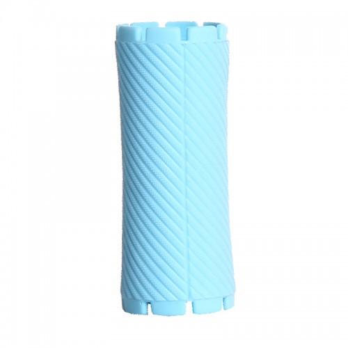 Bigudiuri bleu 3.5*8.8 cm Ihair Keratin 10 buc