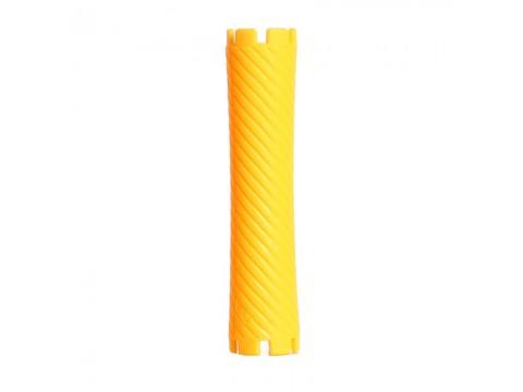 Bigudiuri galbene 1.9*8.8 cm Ihair Keratin 10 buc