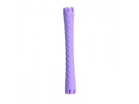 Bigudiuri violet 1.0*7.5 cm Ihair Keratin 10 buc