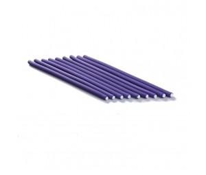 Bigudiuri flexibile violet 0.8*23cm Ihair Keratin 10 buc