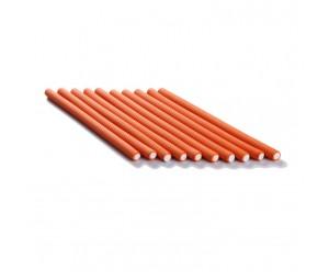 Bigudiuri flexibile portocalii 1.2*23cm Ihair Keratin 10 buc