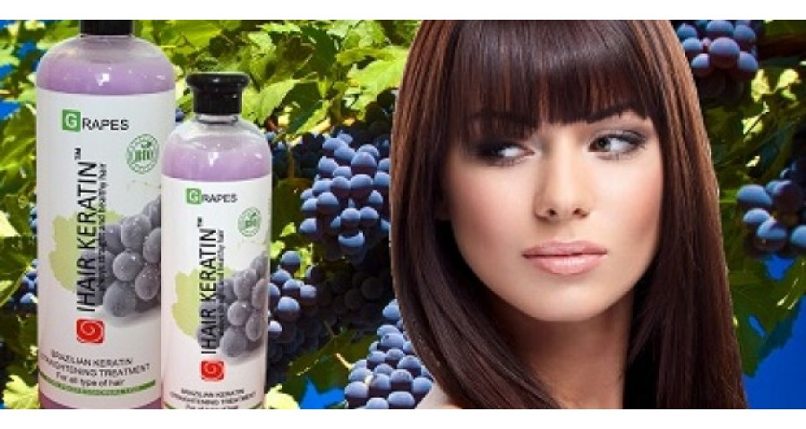 IHAIR KERATIN GRAPES BIO