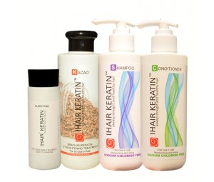 KIT keratina cacao complet Ihair Keratin 250ml