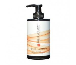 Masca coloranta aramie Ihair Keratin 300ml