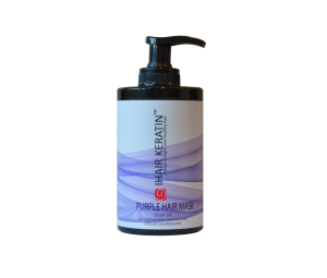 Masca coloranta lila, mov  Ihair Keratin 300 ml