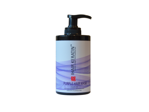 Masca coloranta lila, mov 300 ml  Ihair Keratin