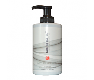 Masca coloranta gri, argintiu Ihair Keratin 300ml