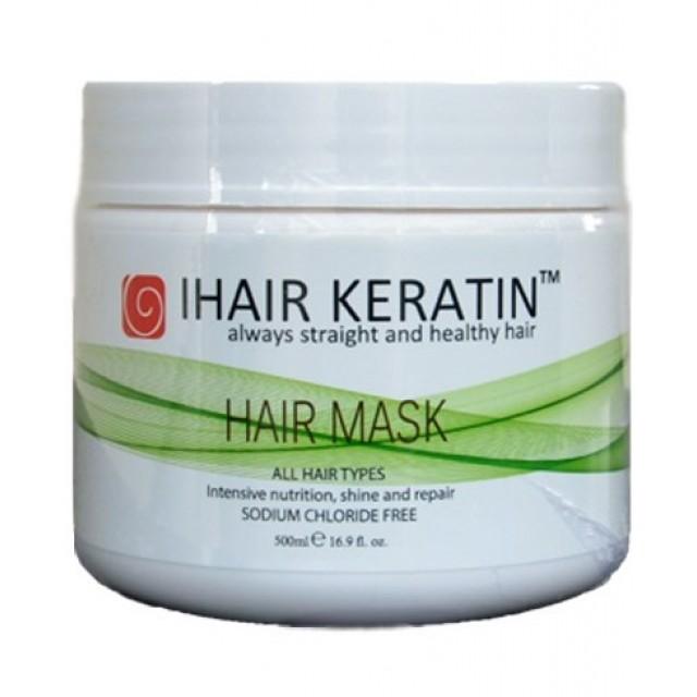 Masca reparatoare cu keratina Ihair Keratin 500ml