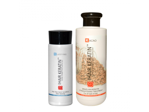 Kit Tratament keratina Ihair Keratin Kacao 250 ml
