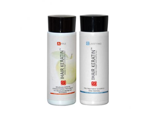 Tratament keratina Apple kit 100ml Ihair Keratin