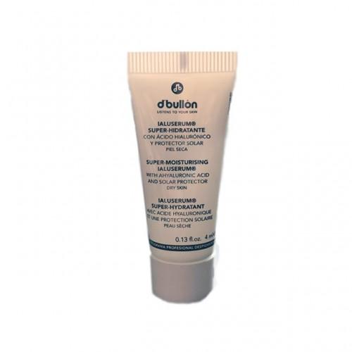 Plic Crema Super Hidratanta cu Acid Hialuronic si Protectie Solara, ten uscat IALUSERUM D'Bullon 4 ml