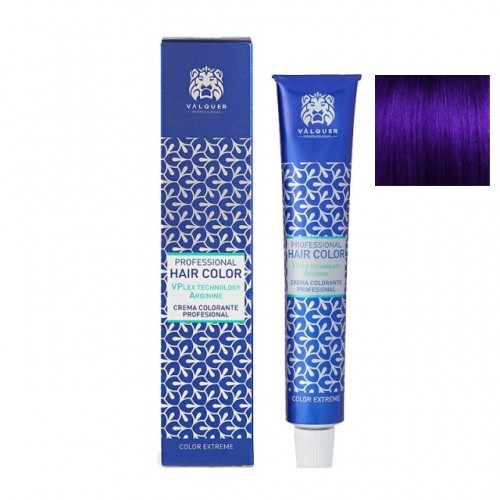 Pigment Intensificator violet VL - Vopsea de par cu plex si arginina Valquer 60g
