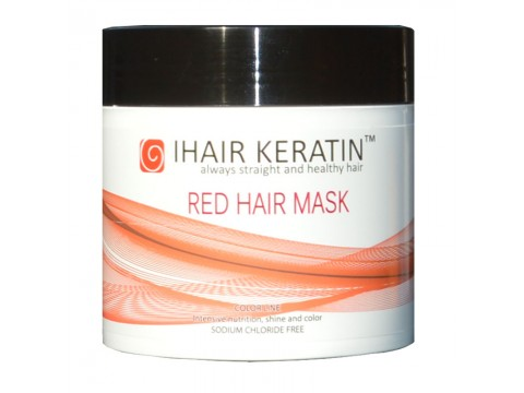 Masca Coloranta Rosie Ihair Keratin 500ml