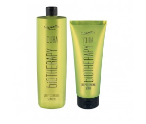 Set Promotional Par Gras si Matreata Sampon 1000ml + Scrub Deep Cleansing Cura Maxxelle 200 ml