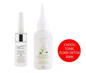 Set Promotional Fiole anti-cadere pasul 1 + Cadou Tonic Elixir Detox Cura Riattiva Maxxelle 30ml