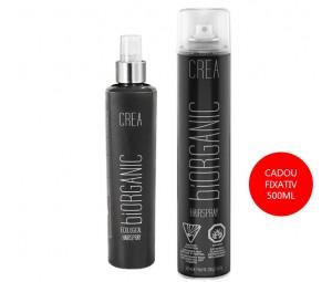Set Promotional Fixativ Lichid 200ml + Cadou Fixativ spray BiOrganic - Maxxelle - 500 ml