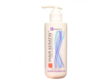 Sampon par normal sau uscat IHAIR KERATIN, 250ml