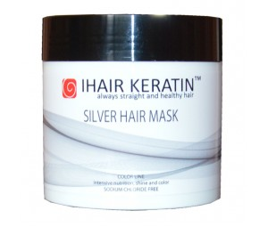 Masca Coloranta Gri, Silver 500ml Ihair Keratin