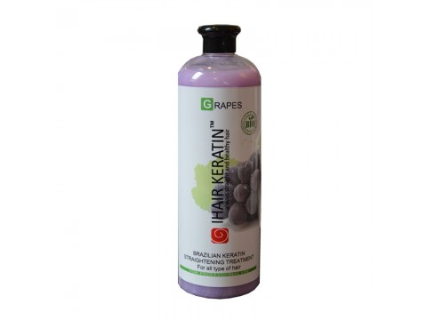 Tratament keratina bio IHAIR KERATIN GRAPES 1000ML