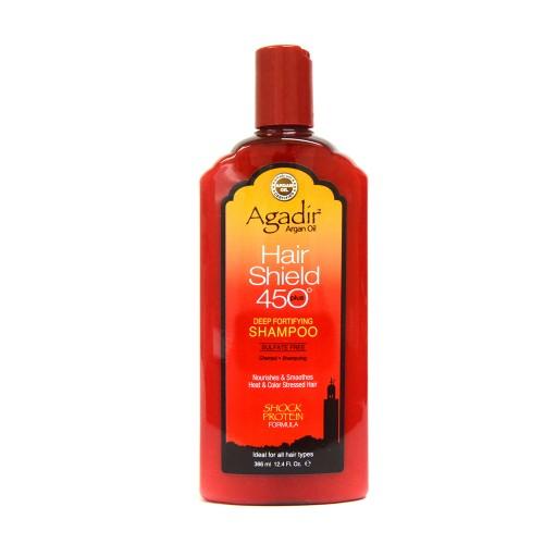 Sampon intaritor cu proteine si protectie termica Hair Shield Agadir 366ml