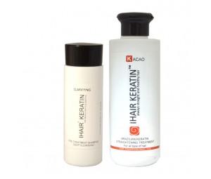 Kit Tratament keratina Ihair Keratin Kacao 250 ml