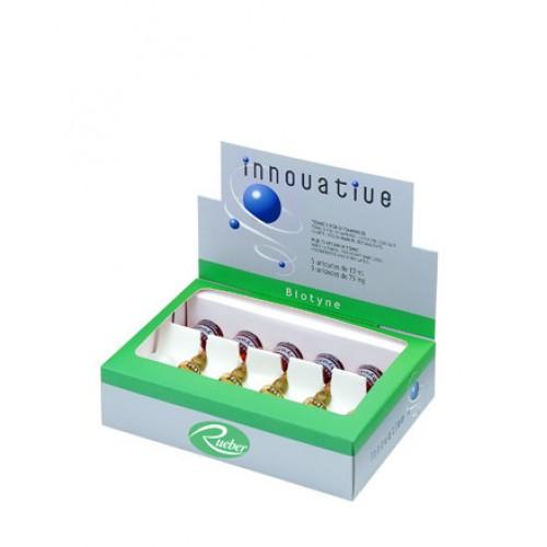 Fiole Biotina Anti-cadere Biotyne Innovative Rueber 50ml+ 375mg